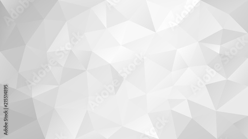 Photo vector abstract irregular polygonal background - triangle low poly pattern - ver