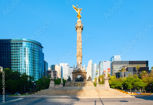 Tuinposter Mexico The Angel of Independence at Paseo de la Reforma in Mexico City