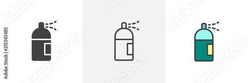 Photo Spray can icon