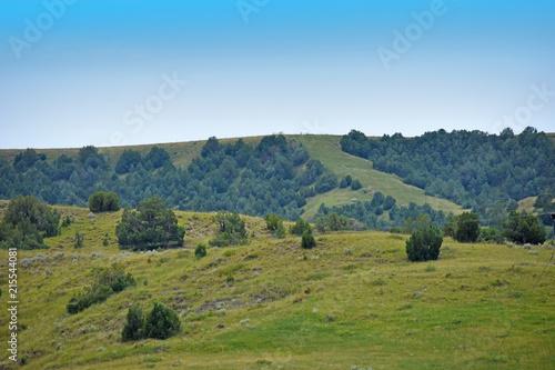 Fotobehang Blauw South Dakota Landscape