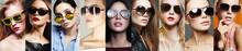 Beauty Fashion Collage. Women ...