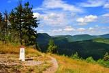 Fototapeta Krajobraz - Góry Kamienne, Sudety - pejzaż górski