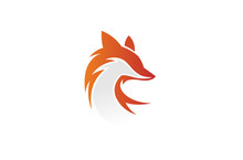 Creative Fox Head Logo Design ...
