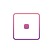 Playing Zary One Icon In Gradient Style