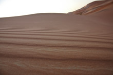 Landscape Of Sand Dunes In The...