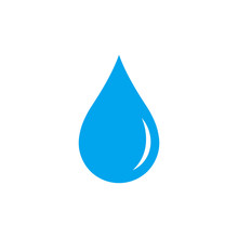 Water Drop. Icon. Vector.