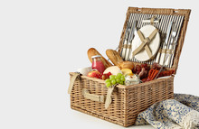 Picnic Hamper Packed With A Ta...