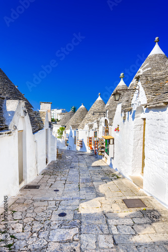 Photo Alberobello, Puglia, Italy - Trullo house