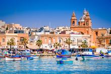 Marsaxlokk, Malta - Luzzu Boats