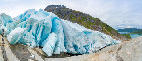 Printed kitchen splashbacks Glaciers Part of Svartisen Glacier in Norway