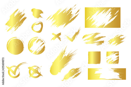 Foto Simple design of shiny colorful smudges and blots for design of lottery scratch