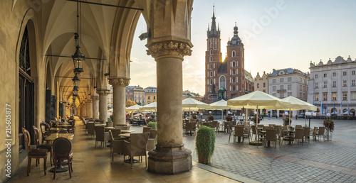 Fototapeta Krakow market square, Poland, Europe. obraz