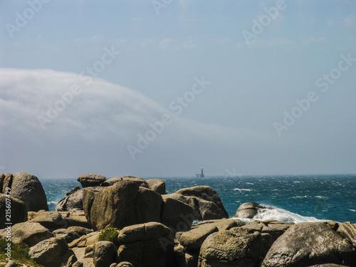 Fotobehang Kust Stormy Sea #1