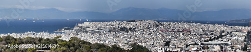 Keuken foto achterwand Athene Panoramic view from the Acropolis of Athens