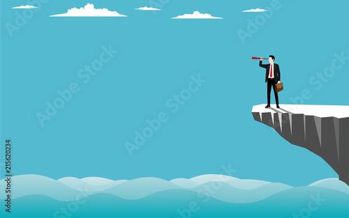 Fotografia, Obraz  Business vision concept