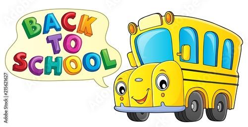 Foto op Plexiglas Voor kinderen Back to school topic 9