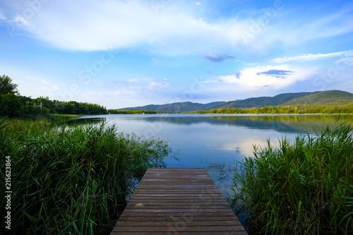 Lake in Catalonia Spain