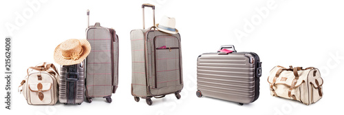 Foto Suitcase and bag set