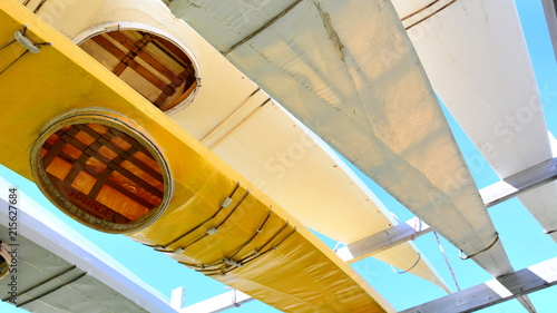 Foto op Plexiglas Poolcirkel Traditional kayaks in Greenland