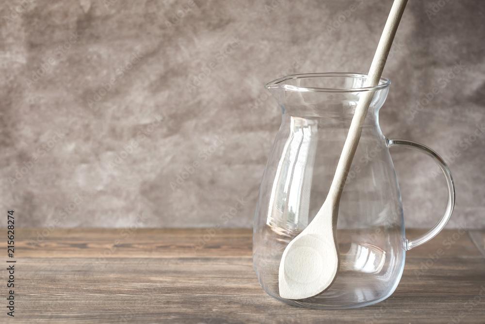 Fototapety, obrazy: Empty sangria pitcher