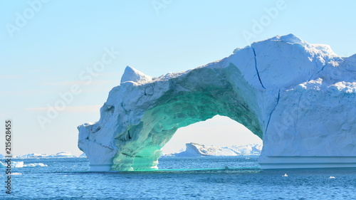 Photo Stands Arctic Iceberg
