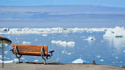 Deurstickers Poolcirkel Greenland. Ilulissat
