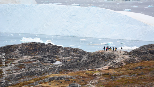 Keuken foto achterwand Poolcirkel Hiking in Greenland