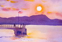 Harbor And The Beautiful Sea I...