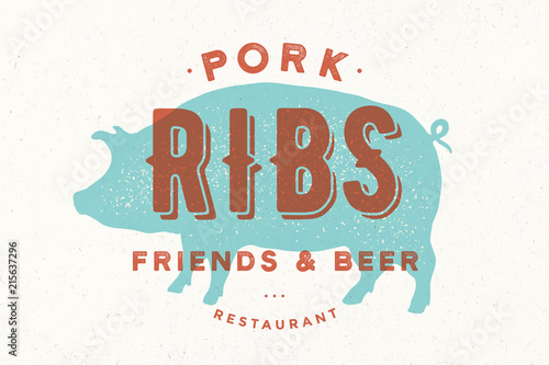 Fotografia, Obraz Pig, pork