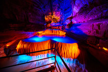 Caverns Cave Waterfall Explora...
