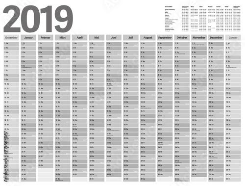 kalenderweochen 2020