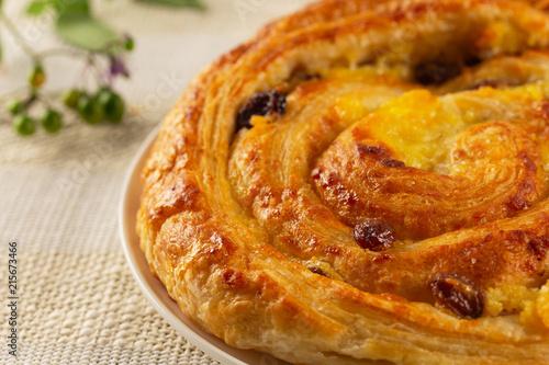 Fotografie, Obraz  Pastries, Rasin Swirl, French, Bakery