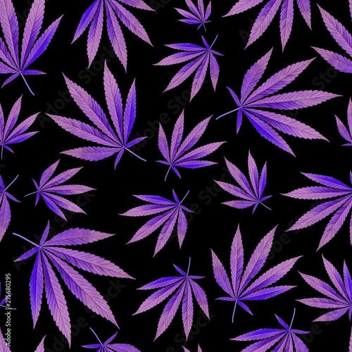Fototapety fioletowe   fioletowe-liscie