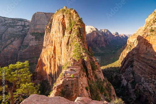 Famous Angel's Landing, Zion National Park, USA