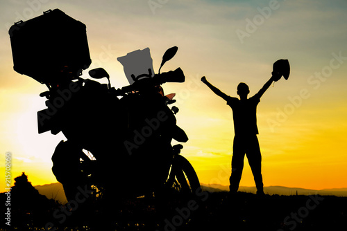 Keuken foto achterwand Aziatische Plekken motorcycle trips, adventure and successful discoveries