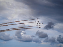 Red Arrows At Scotland Nationa...