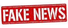Fake News Grunge Rubber Stamp