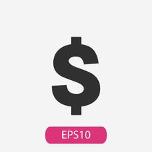 Money Sign Icon Vector
