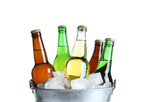 Bottles With Different Types O...