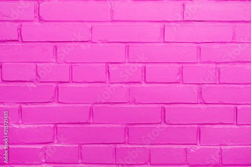 Fototapety różowe niesamowita-rozowa-cegla