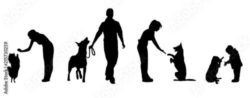 Fotografie, Obraz dogs training