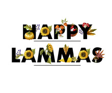 Greeting Banner Of Lammas Holi...