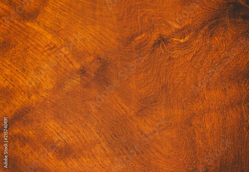 Fotobehang Stof Close up rustic wood table with grain texture in vintage style. Surface of old wood plank in macro concept with empty template and copy space for abstract background or wallpaper and other design.