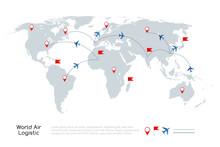 Global Air Logistic Concept. V...
