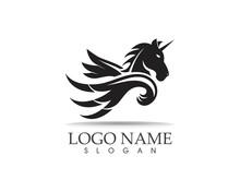 Pegasus Vector Logo Template V...