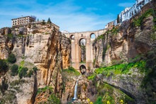 Landscape With The Tajo Gorge ...