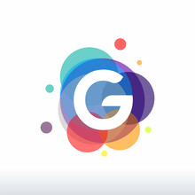 Abstract G Initial Logo Design...