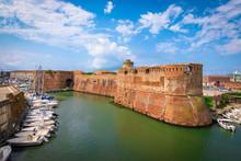 Old Fortress Of Livorno, Tuscany, Italy