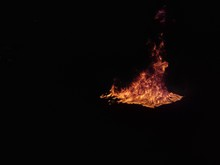Fire In Dark Corner.