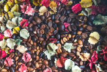 Background Of Roasted Coffee B...